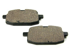 Brake pad set original replacement for front disc brake