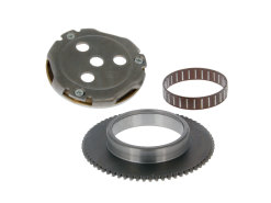 Starter clutch assy with starter gear rim and needle bearing 13mm