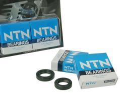 Crankshaft bearings Naraku heavy duty left and right incl. oil seals