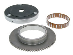 Starter clutch assy with starter gear rim and needle bearing 16mm