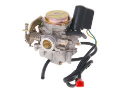 Carburetor w/ metal cover & choke