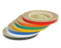 Reflective wheel / rim stripes various types - 600cm in length