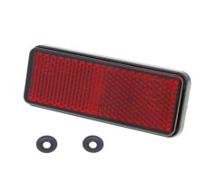 Rear reflector red