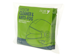 Anti-fog visor cleaner Zeibe cellulose wipes 8 pcs
