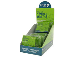 Anti-fog visor cleaner Zeibe cellulose wipes 64 pcs