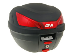 Top Case GiVi B27 Bauletto Monolock scooter trunk black 27L capacity