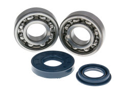 Crankshaft bearing set Naraku SKF metal cage