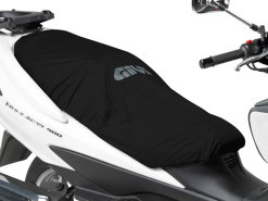 Seat cover removable, waterproof, black in color