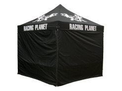 Folding tent / instant canopy Racing Planet 3x3m alu polyester, PVC coated (with bag)