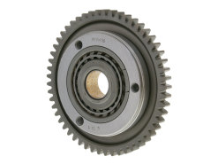Starter clutch assy with starter gear rim