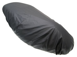 Seat cover XL removable, black in color