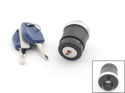 Ignition lock / switch 3-pin universal