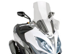 Windshield Puig V-Tech Touring transparent / clear