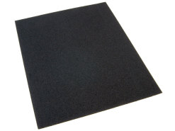 Dry sandpaper P120 230 x 280mm sheet