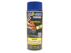 Strippable lacquer Dupli-Color Sprayplast blue glossy 400ml