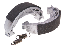 Brake shoe set Polini 110x25mm w/ springs for drum brake
