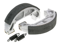 Brake shoe set Polini 100x20mm w/ springs for drum brake