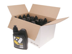 Engine oil / motor oil 101 Octane semi-synthetic 2-stroke 12x 1 Liter