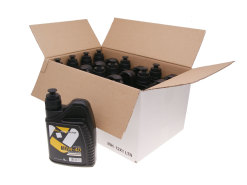 Engine oil / motor oil 101 Octane semi-synthetic 4-stroke 10W40 - 12x 1 Liter