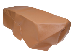 Seat cover brown