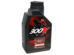 Motul engine oil 4-stroke 4T 5W30 300V Factory Line Road Racing 1 Liter