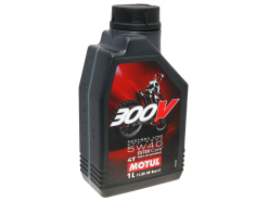 Motul engine oil 4-stroke 4T 5W40 300V Factory Line Off Road 1 Liter