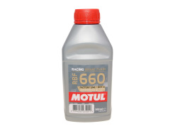 Motul RBF 660 Factory Line DOT 4 racing brake fluid 500ml