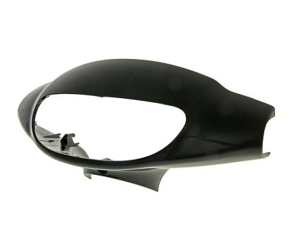 4 - headlight cover black lacquered