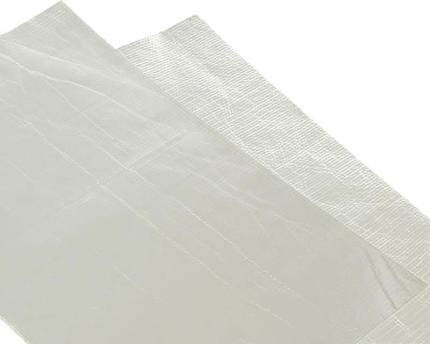 Adhesive aluminized fiberglass cloth heat barrier / protection tape various sizes