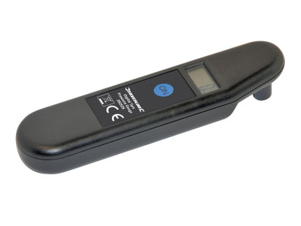 Digital tyre pressure gauge Silverline 0.15-7bar (2-99.5psi)